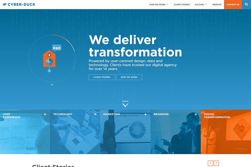 Cyber-Duck digital agency UK