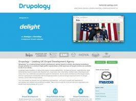 Drupology Drupal developer London