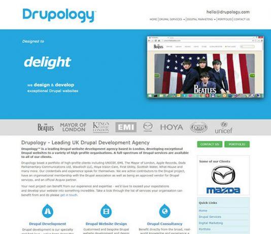 Drupology Drupal developer London